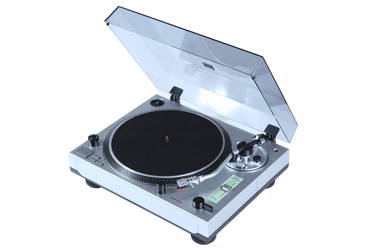 TechPlay ODC21MKI-SL Fully Automatic Turntable, Aluminum tray,+/