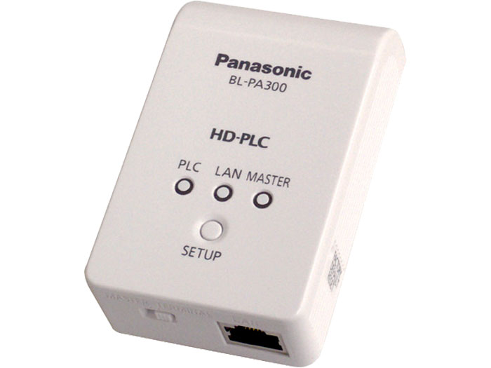 Panasonic BL-PA300KTA HD-PLC Ethernet Adaptor Double Pack