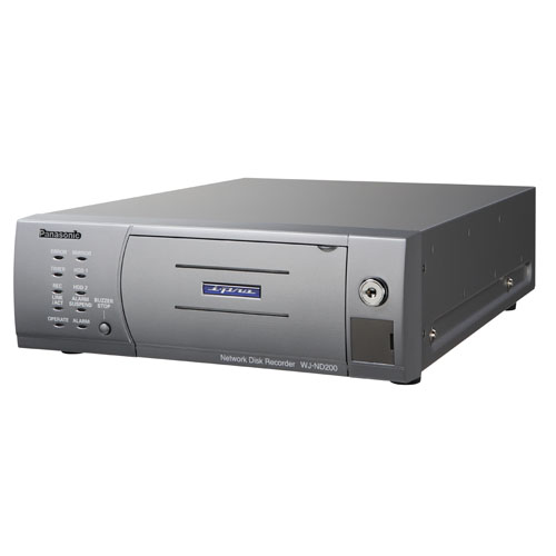 Panasonic WJ-ND200/640A Network Video Recorder (NVR) with Remova