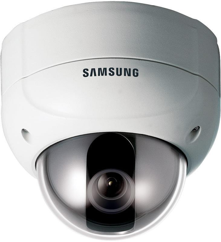 Samsung SCV-2120 1/4-inch Super CCD Motorized Zoom Anti-Vandal D