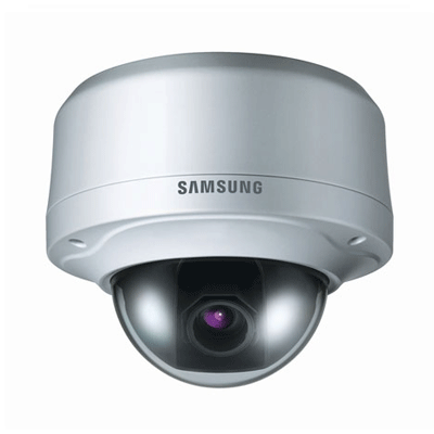 Samsung SCV-3080 RB dome camera with intelligent video analytics
