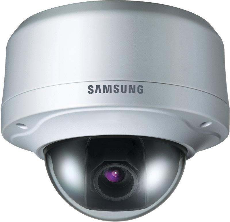 Samsung SCV-3120 RB 1/4-inch CCD, Motorized Zoom, 600TV Lines, D