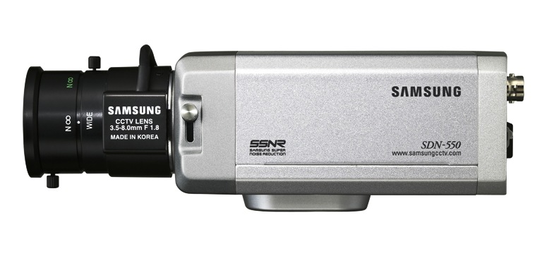 Samsung SDN-550 RB Camera Box, Lens not included