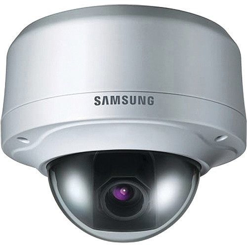 Samsung SNV-3080 H.264 Anti-vandal WDR Network Dome Camera