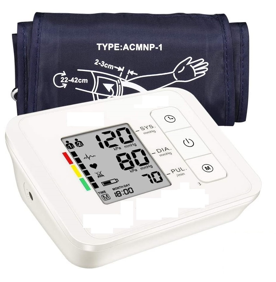FirstMedic Medical Grade Intelligent Upper arm Blood Pressure Mo